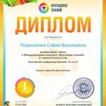 Диплом 1 степени для победителей konkurs.info ¦8065 (Copy)